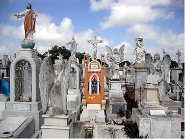 Friedhof in Merida